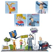 Inspector Gadget Megahero Series Action Figures Deluxe Set