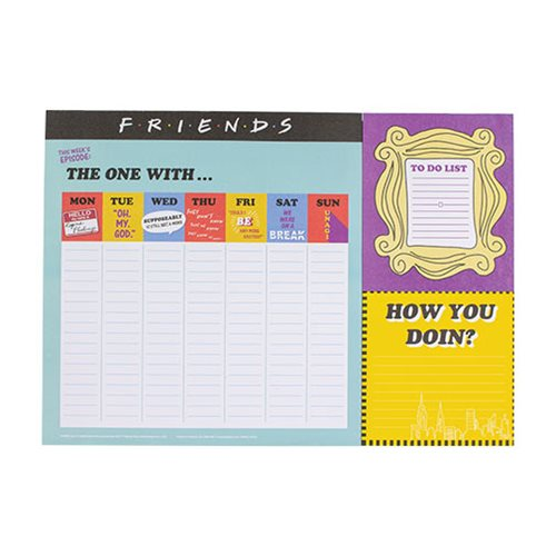 Friends Desk Planner