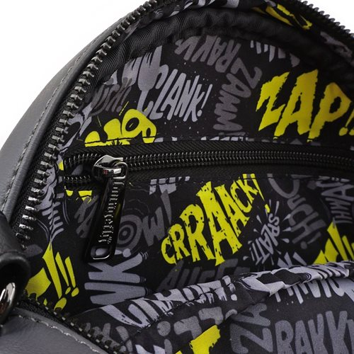 Batman 80th Anniversary Chenille Canteen Bag