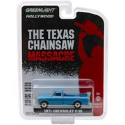 The Texas Chain Saw Massacre 1974 - Hollywood Series 22 1971 Chevrolet C-10 Solid Pack 1:64 Die Cast Metal Vehicle