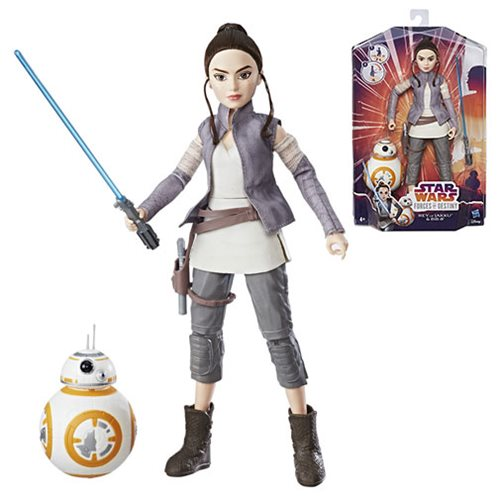 Star Wars Forces of Destiny Rey with BB-8 Adventure Figures