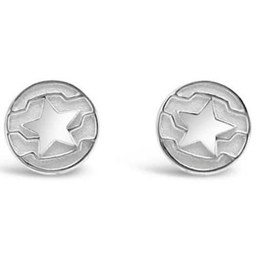 Winter Soldier Stud Earrings