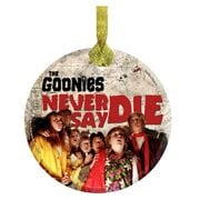 The Goonies Never Say Die StarFire Prints Hanging Glass Print