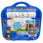 Paw Patrol on a Roll Art Desk