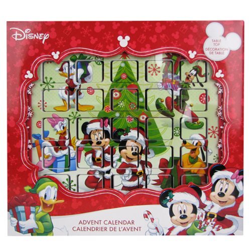 Mickey Mouse and Friends 9 1/2-Inch Advent Calendar