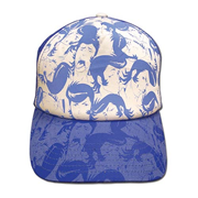 Space Dandy Blue Dandy Faces Hat