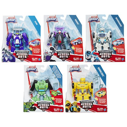 Transformers Rescue Bots Rescan Figures Wave 12