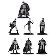Batman Black and White Mini-Figure 7-Pack Box Set #3