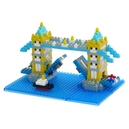 Tower Bridge Nanoblock Constructible Figure