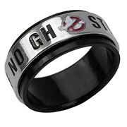 Ghostbusters No Ghosts Spinner Ring