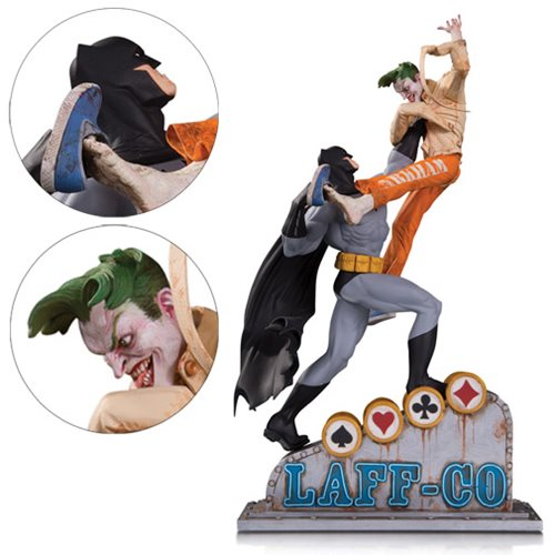 Batman vs Joker Laff-Co Battle Resin Statue