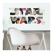Star Wars Floral Logo Peel and Stick Giant Wall Decals