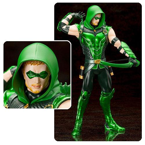 Картинки по запросу DC Comics ArtFX Statue - New 52 Green Arrow
