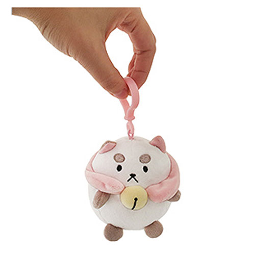 Bee and PuppyCat Micro Squishable Plush Backpack Clip Key Chain