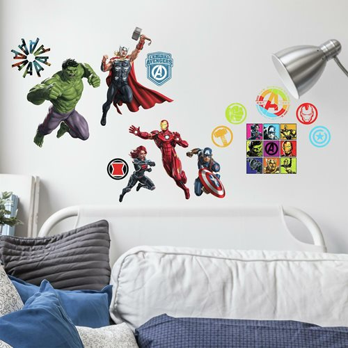 Avengers Classic Peel and Stick Wall Decals