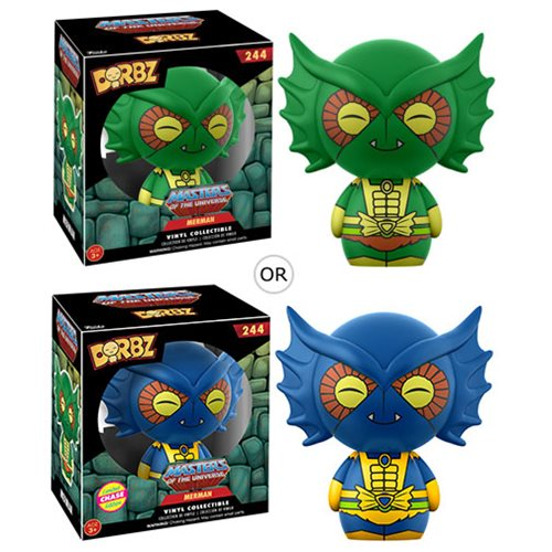 Masters of the Universe Merman Dorbz Vinyl Figure, Not Mint
