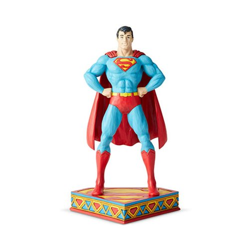 DC Comics Superman Silver Age Statue by Jim Shore