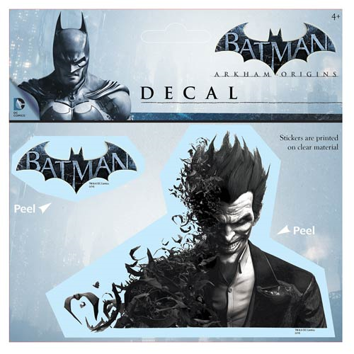 Batman: Arkham Origins Batty Joker Decal