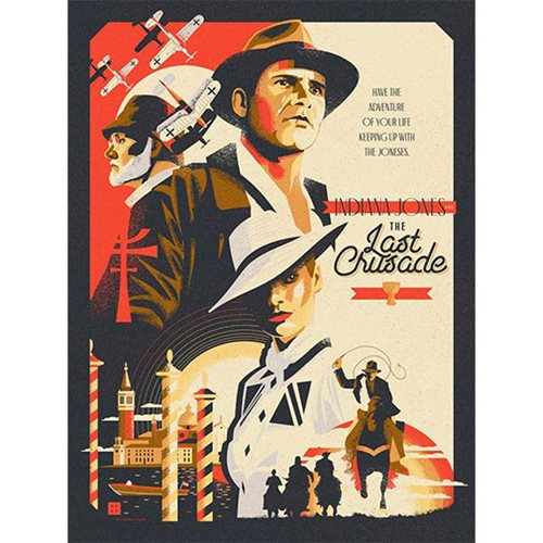 Indiana Jones Crusade by Danny Haas Lithograph Art Print