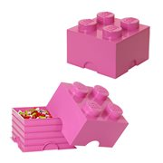 LEGO Friends Medium Pink Storage Brick 4