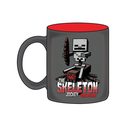 Minecraft Skeleton Jockey Mug