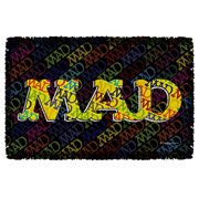 MAD Magazine So Much Mad Woven Tapestry Throw Blanket