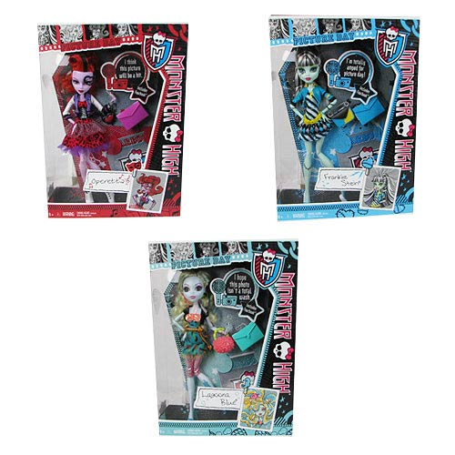 Monster High Doll Assortment Wave 12 Set