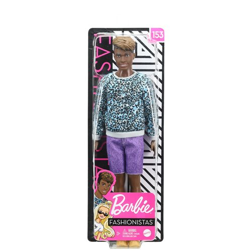 Barbie Ken Fashionistas Doll #153 with Sculpted Dreadlocks