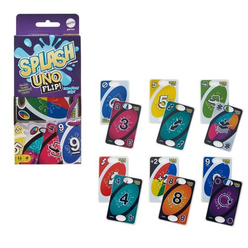 Uno Flip Splash Card Game
