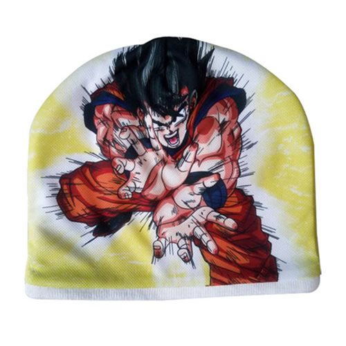 Dragon Ball Z Goku Kamehameha Fleece Beanie Hat