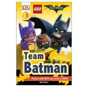 The LEGO Batman Movie: Team Batman DK Readers 1 Paperback Book