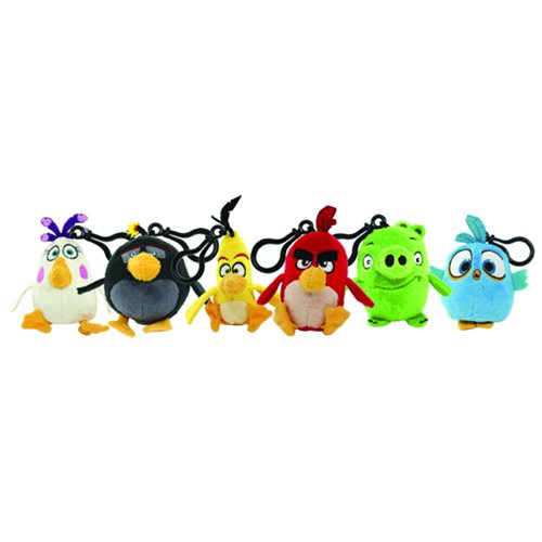 Angry Birds Movie Plush Clip-On Case