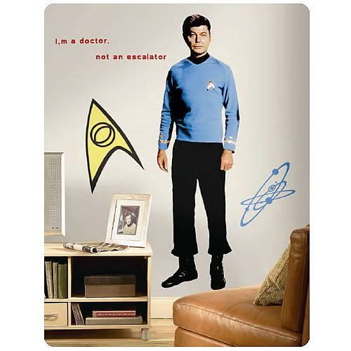Star Trek McCoy Peel and Stick Giant Wall Applique