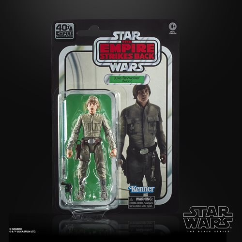 Star Wars The Black Series Empire Strikes Back 40th Anniversary 6-Inch Luke Skywalker Bespin Action
