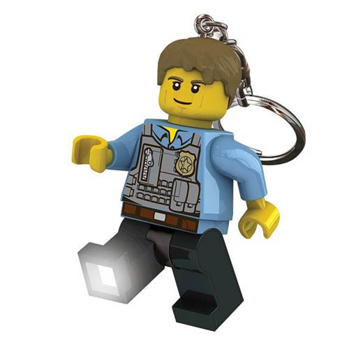 LEGO City Undercover Chase McCain Police Minifigure Flashlight