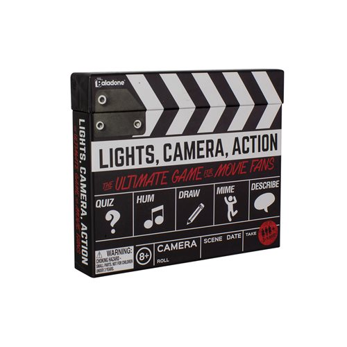 Lights, Camera, Action Game