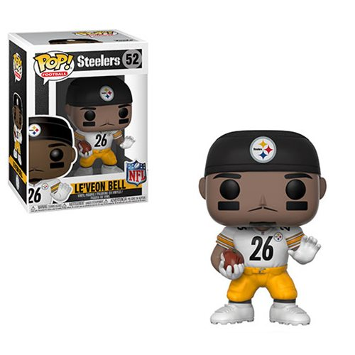 NFL Le'Veon Bell Steelers Pop! Vinyl Figure #52, Not Mint