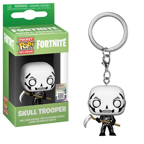 Fortnite Skull Trooper Pocket Pop Key Chain Entertainment Earth