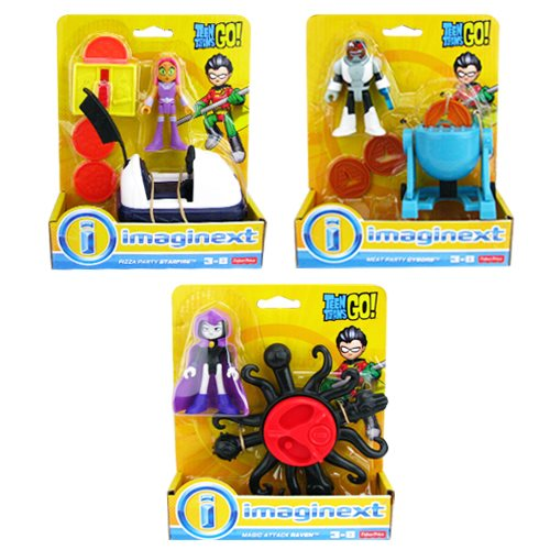 Teen Titan Go! Imaginext Basic Playset Case