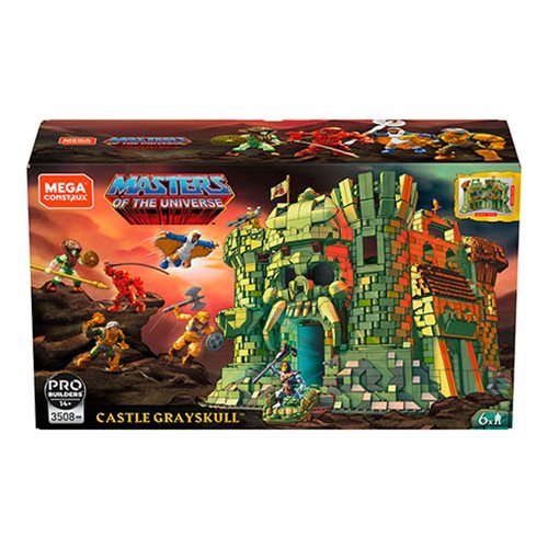 Mega Construx Probuilder Masters of the Universe Grayskull Castle Playset