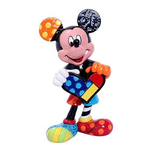 Disney Mickey Mouse Mini-Statue by Romero Britto