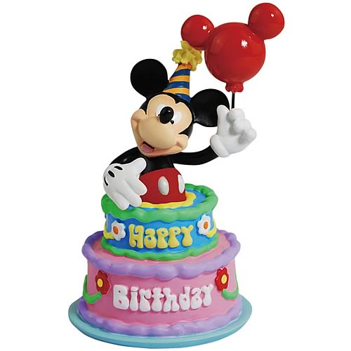 Mickey Mouse Birthday Cake Statue