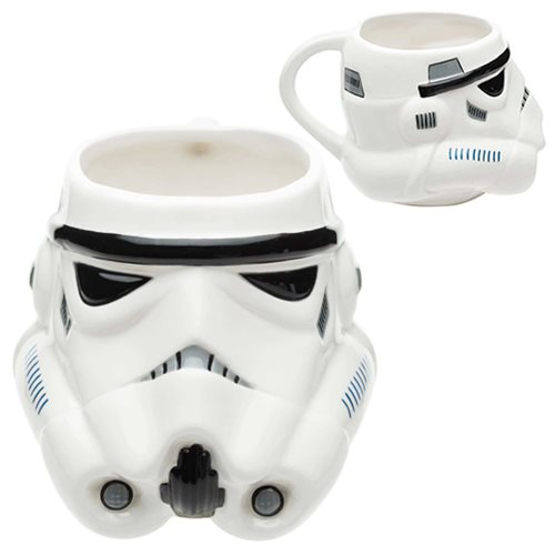 Star Wars Stormtrooper Ceramic Molded Mug