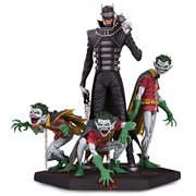 Dark Nights Metal Batman Who Laughs and Robins Deluxe Statue