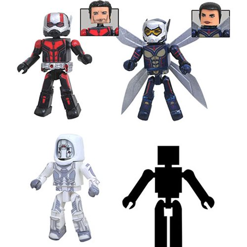 Marvel Ant-Man and Wasp Movie Minimates Box Set