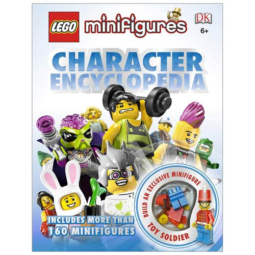 LEGO Minifigures Character Encyclopedia Hardcover Book