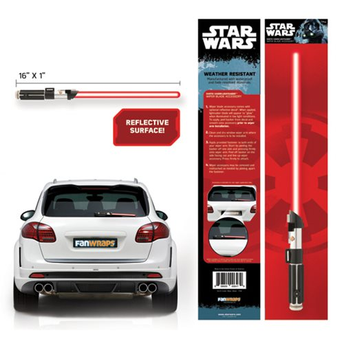 Star Wars Darth Vader Lightsaber Wiper Blade Accessory