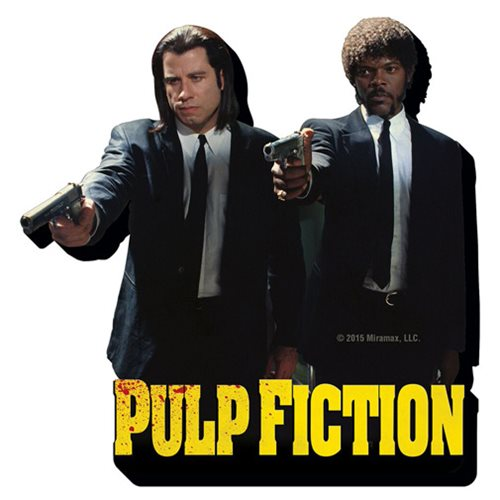 Pulp Fiction Duo Funky Chunky Magnet