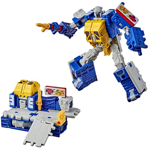 Transformers Generations Selects War for Cybertron Earthrise Deluxe Greasepit - Exclusive