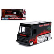 Hollywood Rides Deadpool Black Taco Truck 1:32 Scale Die-Cast Metal Vehicle